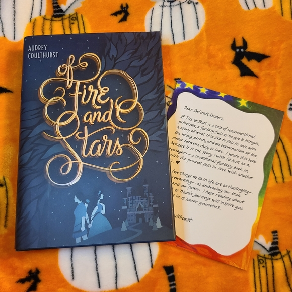 Owlcrate Of Fire & Stars Young Adult Fantasy Book